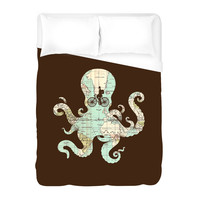 All Around The World Duvet Cover