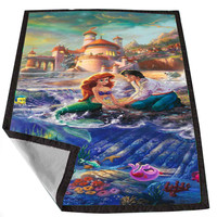 Little mermaid HADEPICT bb59fc04-8023-4fc6-ba52-b285e56740f5 for Kids Blanket, Fleece Blanket Cute and Awesome Blanket for your bedding, Blanket fleece *02*
