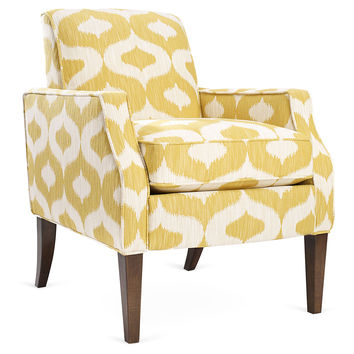 Erica Chair, Yellow, Accent & Occasional Chairs