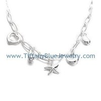 Find The Last Cheap Tiffany & Co Elsa Peretti 5 Charm Necklace In Tiffanybluejewelry.com