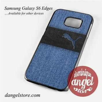 blue jeans puma phone case for samsung galaxy s3 s4 s5 s6 s6 edge s6 edge plus  number 1