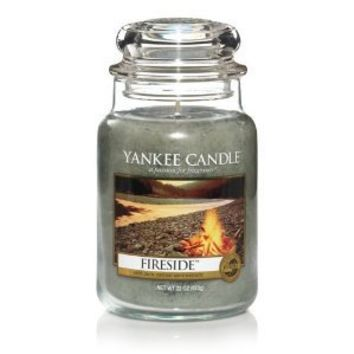 Yankee Candle FIRESIDE Large 22-ounce Housewarmer Jar Candle
