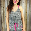 TAKE ME WITH YOU ROMPER