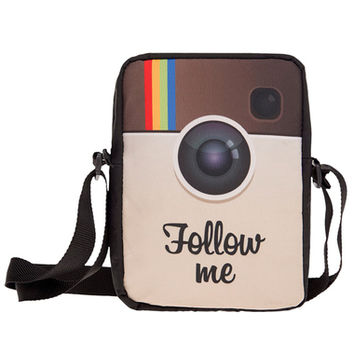 FOLLOW ME MESSENGER CROSSBODY BAG