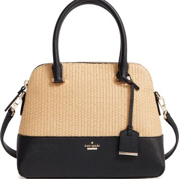 kate spade new york cameron street straw - maise satchel | Nordstrom