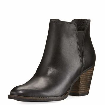 Dolce Vita Jante Leather Ankle Bootie