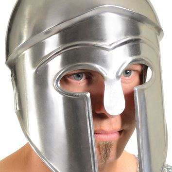 costume accessory: helmet greek metal armor