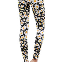 Aoki Fashion - Daisy Print Leggings