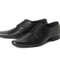 Larkin Grain Black ($160.00) - Larkin is the grandson of the H Classic Ellington. A classic mens leather formal shoe, Larkin has a clean and crisp vamp. Subtle details have been added with a single punched hole pattern around the topline, and the use of a