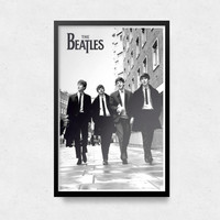 The Beatles Poster Music Poster Beatles Print John Lennon OFFICIAL Movie LP7