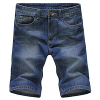Ripped Fashion Men's Summer Denim Shorts