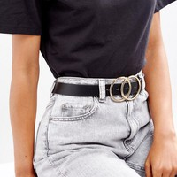ASOS Double Circle Waist and Hip Belt at asos.com
