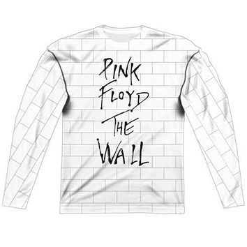 Pink Floyd The Wall Long Sleeve Sublimation Shirt