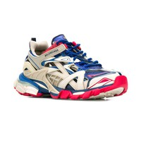 Ladies Multi Pink and Blue Track 2 Sneakers by Balenciaga