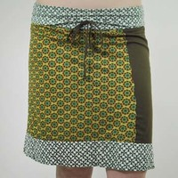 Pinwheel Panels Skirt