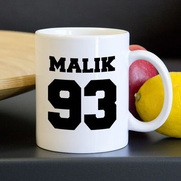 Zayn Malik One Direction DOB Mug, Tea Mug, Coffee Mug