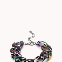 Oil Slick Chain Bracelet