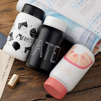 Cartoon Thermos Vacuum Cup Stainless Steel Bottle Mug Insulated Tumbler