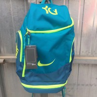 NIKE ZOOM KD 2018 Counter Basketball Backpack College Men's Schoolbag F-A30-XBSJ Blue