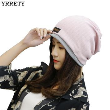 Beanie Hat Soft Warm Skull Cap in Light Color Options