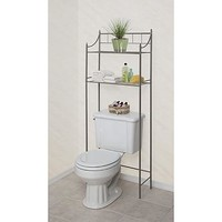 2-Shelf Bathroom Space Saver: Pretty Storage in the Bath with Kmart