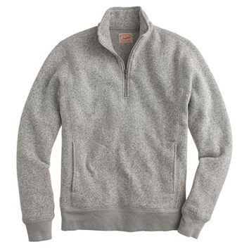 J.Crew Mens Tall Summit Fleece Half-Zip Pullover
