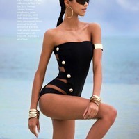 Sexy One Piece Biquinis  Swimsuit For Women Secret Brand Bathing Suits