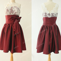 short bridesmaid dresses, cute bridesmaid dress, burgundy bridesmaid dresses, ball gown, junior prom dresses, ball gown, BE0316