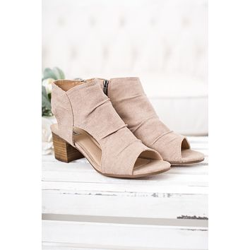 Teagan Open Toe Not Rated Booties (Blush)