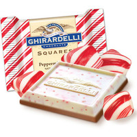 Ghirardelli Peppermint Bark Chocolate Squares: 7-Ounce Gift Bag