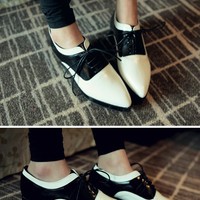 Two-Toned Chic Loafers
