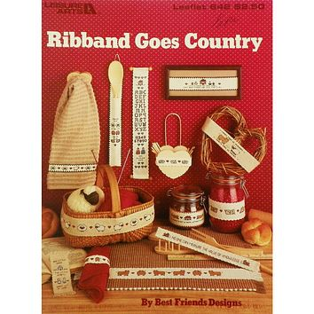 Ribband Goes Country - Counted Cross Stitch Leaflet - Leisure Arts