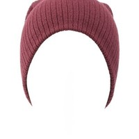 Basic Ribbed Beanie by Charlotte Russe