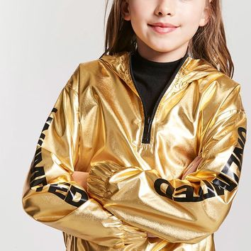 Girls Metallic Unlimited Anorak (Kids)