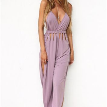 Lustre Cutout Jumpsuit - SABO SKIRT