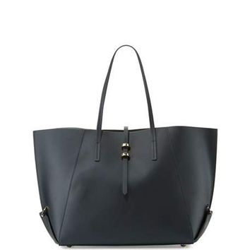 ZAC Zac Posen Eartha Shopper Leather Tote Bag, Lagoon