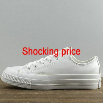Cheap Priced Unisex Converse Chuck Taylor All Star 1970s Low All White 155455 sneaker