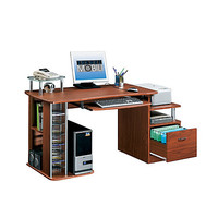 Techni Mobili Fiberboard Workstation 35 H x 60 W x 24 D Mahogany by Office Depot & OfficeMax