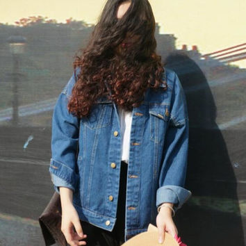 Bf Denim Oversize Jacket
