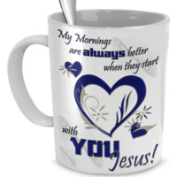 Starting with YOU Jesus! mymornings