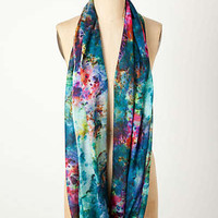 Anthropologie - Water Lily Infinity Scarf