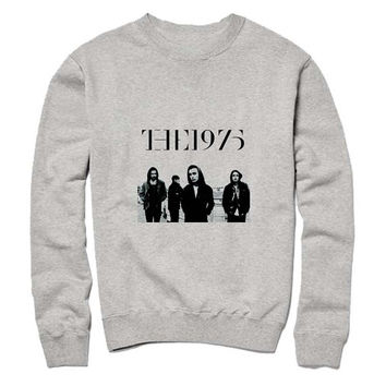 the 1975 logo Sweatshirt Crewneck Men or Women for Unisex Size