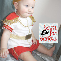 Disney Cinderella Prince Charming inspired shirt and shorts set/costume/dress up boy outfit 5,6,7,8