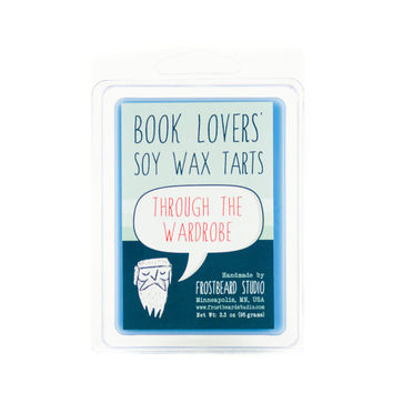 Through the Wardrobe  -- Book Lovers' Scented Tart -- 3oz pack