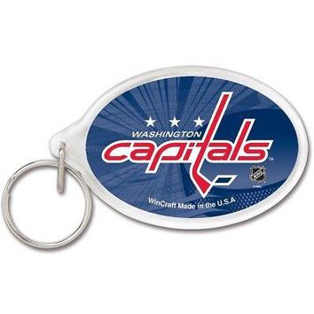 """Licensed Washington Capitals Official NHL 3"""" Key Chain Caps by Wincraft 655981 KO_19_1"""