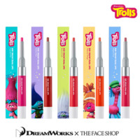 [THE FACE SHOP] Ink Drow Dual Lip Trolls Edition