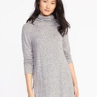 Plush Turtleneck Tunic for Women | Old Navy