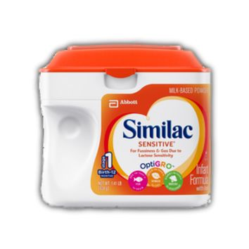 Similac Sensitive Infant Formula | Abbott Nutrition