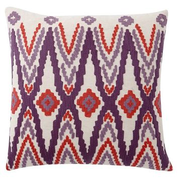 Sunset Ikat Pillow Cover