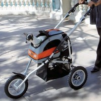 Petego Sport Trike Stroller Collapsible Pet Stroller